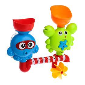 Игрушки для купания «Развивающий», на присоске, цвет МИКС