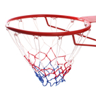 """Mesh basketball """"Tricolor"""", the thread is 3 mm, 2 pieces"""