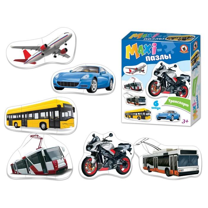 Макси-пазлы «Городской транспорт»