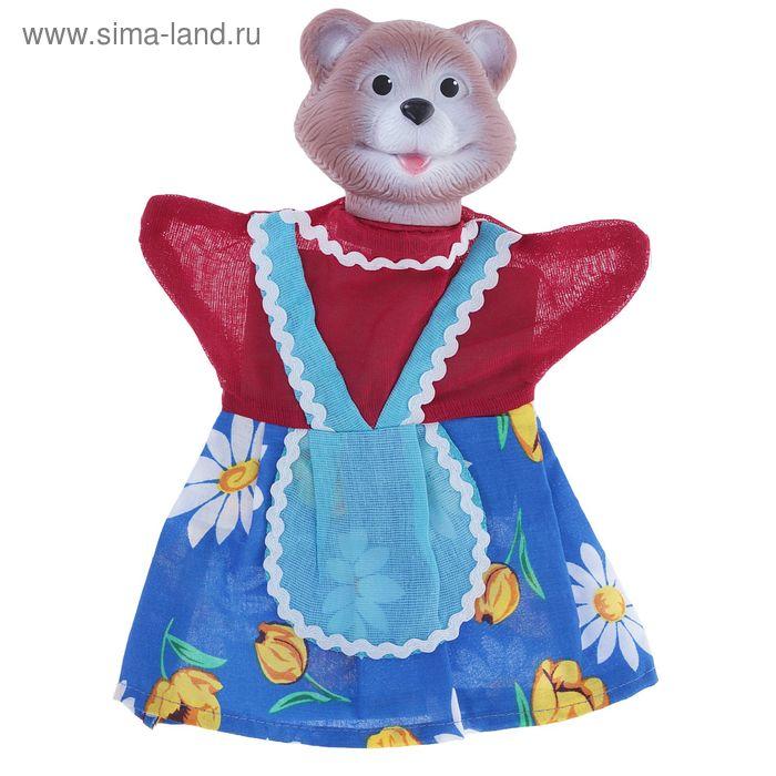"""Кукла - перчатка """"Медведица"""""""