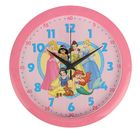 """Часы настенные круглые """"Принцессы"""", d=28 см, микс"""