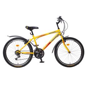 "Велосипед 24"" Progress модель Highway RUS, 2017, цвет желтый, размер 15"""