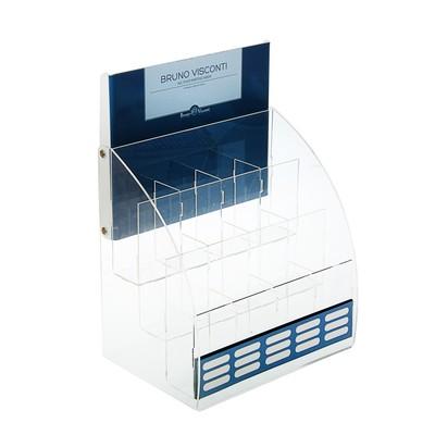 Пластиковая стойка для продукции Bruno Visconti, 35х18х25 см