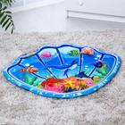 "Children's developing Mat of ""Sea adventure"" 2 toys"
