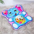 Mat baby developmental Elephant, 2 toys