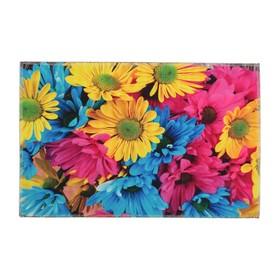 Коврик для ванной 'Цветы' 38х58 см Ош