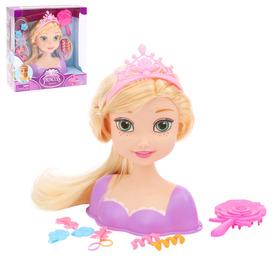 """Кукла-манекен для создания причёсок """"Милая принцесса-2"""" с аксессуарами"""