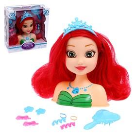 Кукла-манекен для создания причёсок «Стильная принцесса-1» с аксессуарами