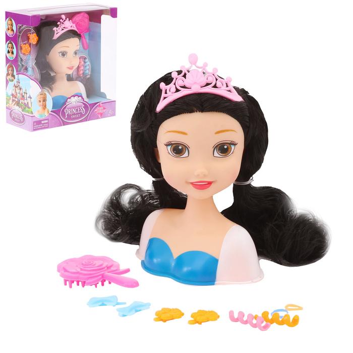 Кукла-манекен для создания причёсок «Милая принцесса-3» с аксессуарами