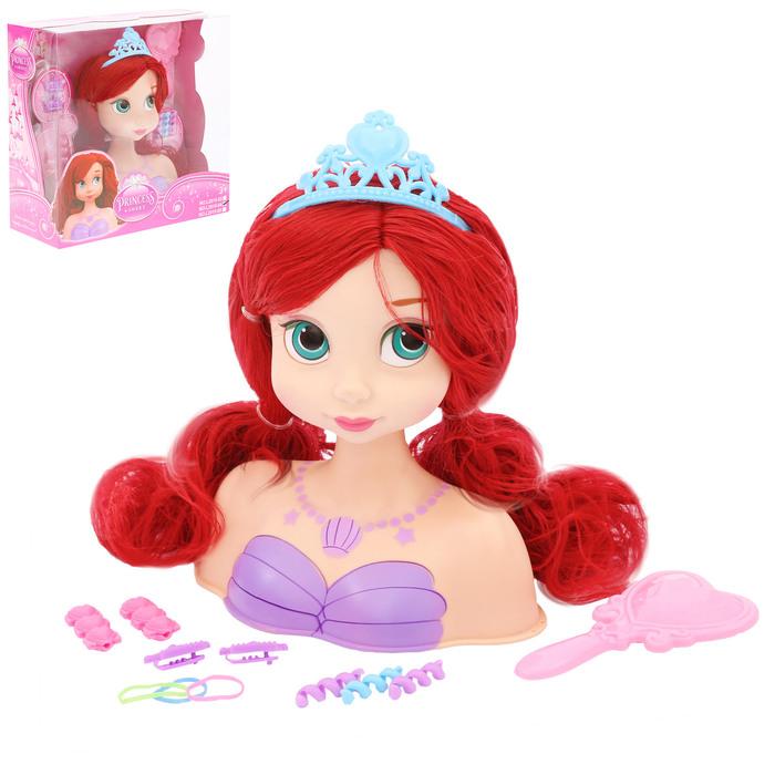 Кукла-манекен для создания причёсок «Нежная принцесса» с аксессуарами - фото 105581247
