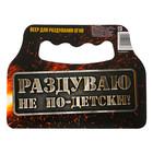 Опахало для мангала «Раздуваю не по-детски», 20 ? 15 см