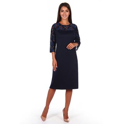 Платье женское Оптима цвет черничный, р-р 52