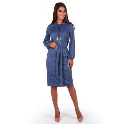 Платье женское Эйдис цвет синий, р-р 52