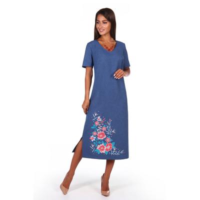 Платье женское Патриция цвет синий, р-р 52