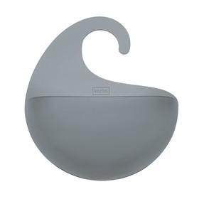 Органайзер для ванной SURF M, прозрачно-серый
