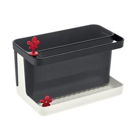 Органайзер для раковины PARK IT, бело-чёрный