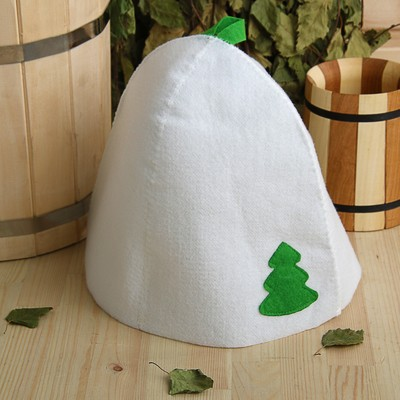 "Bath cap with applique ""Tree"", ecopetr"
