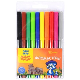 Felt-tip pens 10 colors Multi-Remote