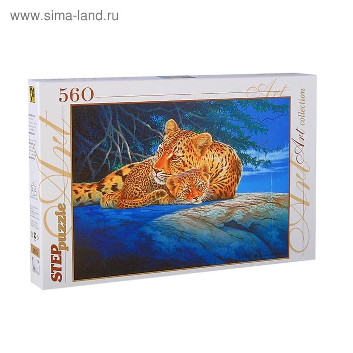 "Пазлы ""Леопарды"", 560 элементов"