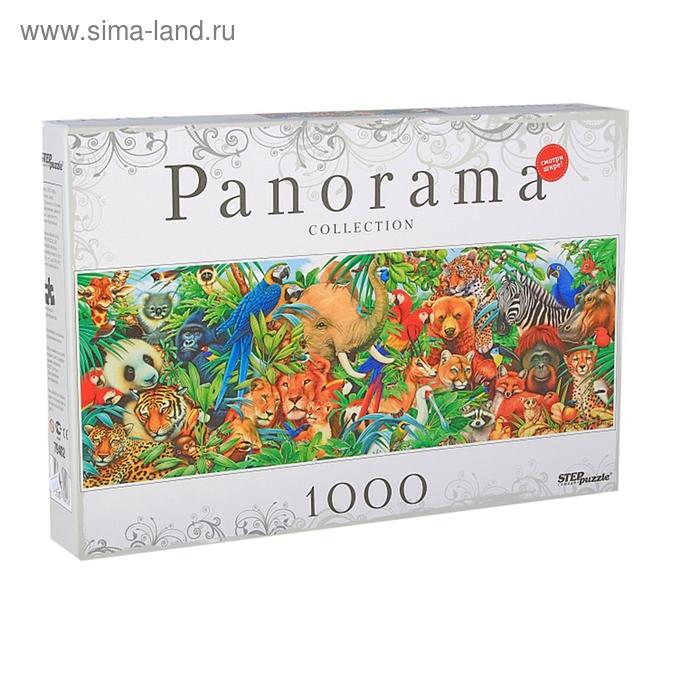 """Пазлы """"Мир животных"""" Panorama, 1000 элементов"""