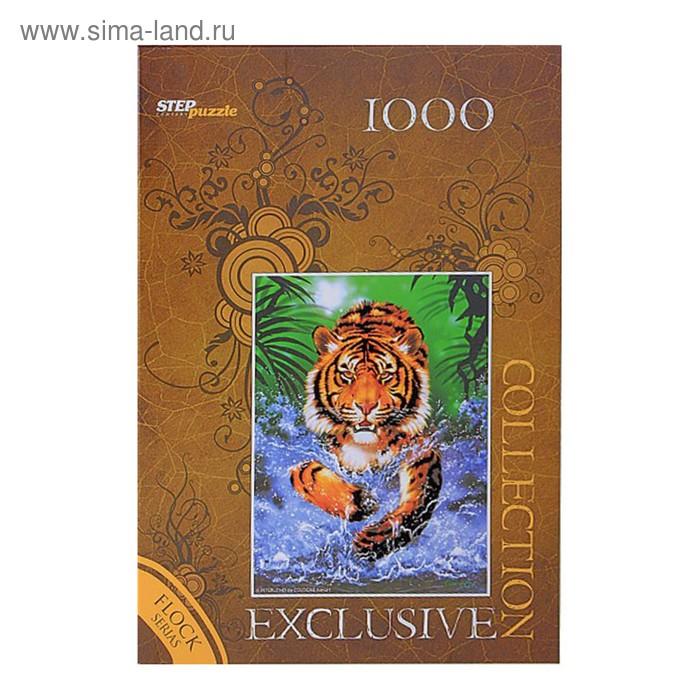 "Пазлы ""Тигр"" Бархатная коллекция, 1000 элементов"
