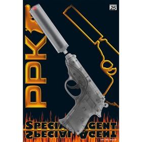 Пистолет «Специальный агент PPK» с глушителем, 25-зарядный в Донецке