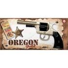 """Пистолет """"Oregon Metall Gold Western"""", 12-зарядный, 21,5 см"""