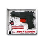 """Пистолет с пистонами """"Leopardmatic"""", 12-зарядный, 17,5 см"""