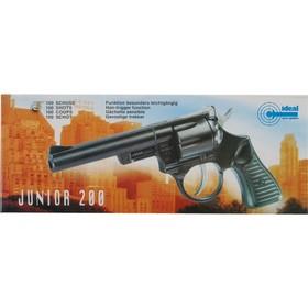Пистолет «Junior 200», 100-зарядный, 21 см, упаковка-короб в Донецке