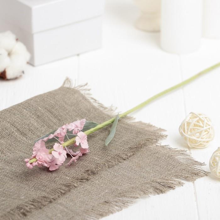 """Искусственный цветок """"Лаванда"""" розовая 34 см"""