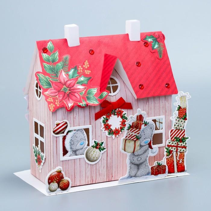 Домик новогодний «Рождественская сказка», набор для создания, Me To You
