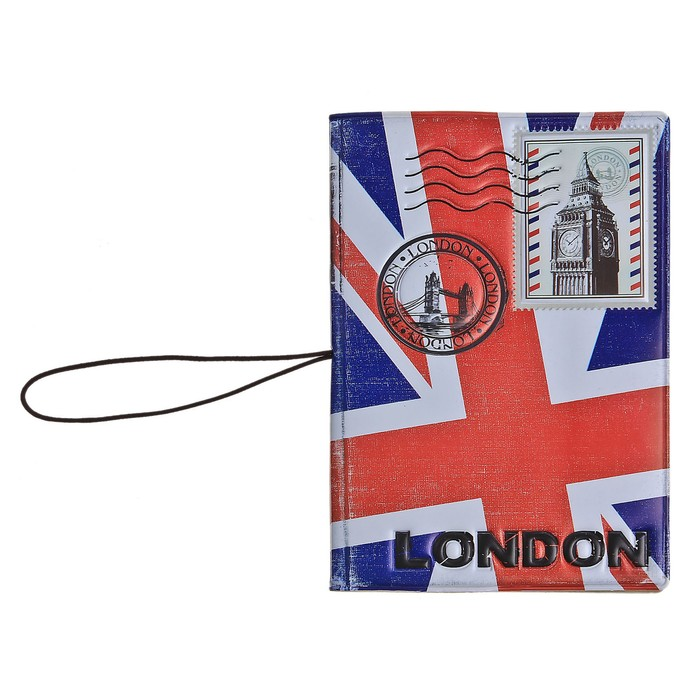 """Обложка для паспорта и автодокументов 3в1 """"Лондон"""""""