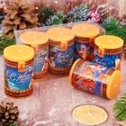 """Новогодний набор свечей """"С Новым годом!"""" 3 шт"""