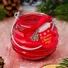 сувенирные новогодние свечи в банке