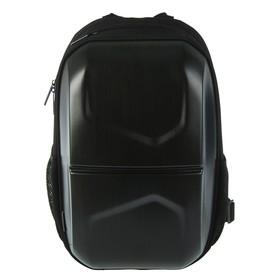 Рюкзак молодёжный Yes T-33 44.5 х 29.5 х 14.5 см, эргономичная спинка, Stalwart, черный