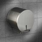 Диспенсер туалетной бумаги, нержавеющая сталь 16х15х12 см