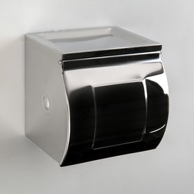 The toilet paper holder mirror, with grommet, with ashtray 12×12.5×13 cm