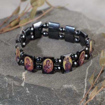 """Bracelet """"Hematite"""" Orthodox"""
