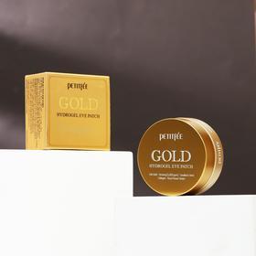 Гидрогелевые патчи Petitfee, с 24-каратным коллоидным золотом, 60 шт.