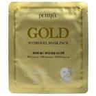 Гидрогелевая маска для лица с золотом Petitfee, 32 г