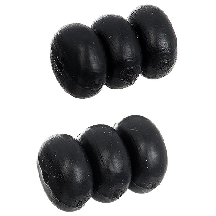 Комплект из 3 резиновых шайб STG YZ-KOR1-1.2  для защиты рамы от тросов. прозрачные  1,2 мм.