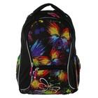 Рюкзак школьный эргономичная спинка 44х33х15см Erich Krause Neon, черный
