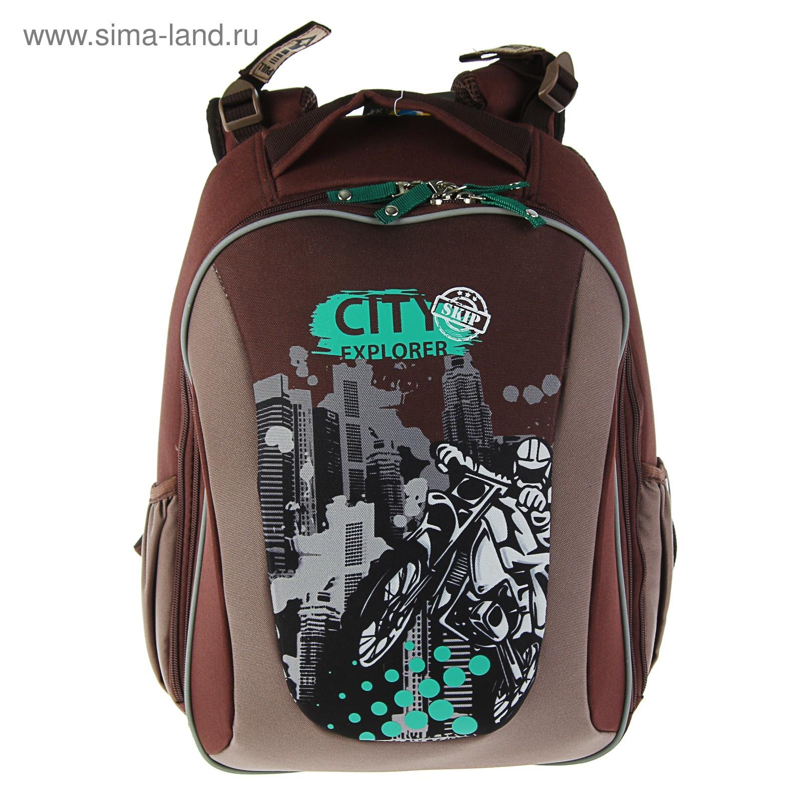 be23c14dee4a Рюкзак каркасный школьный эргономичная спинка Erich Krause 40х32х18 см  Multi Pack City Explorer
