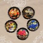 """Magnet """"Flowers"""" lacquered miniature, MIX"""