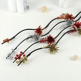 """Decor tinggi """"Ferns and bulbs"""" 150 cm (packing 5 PCs, price is for 1pc), mix"""