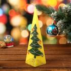 новогодние свечи-пирамидки