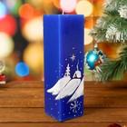 новогодние свечи-куб