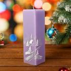 сувенирные новогодние свечи-кубы