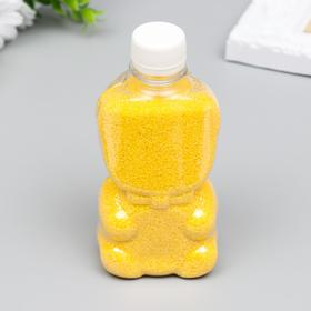 Sand color in bottles Yellow 500 gr