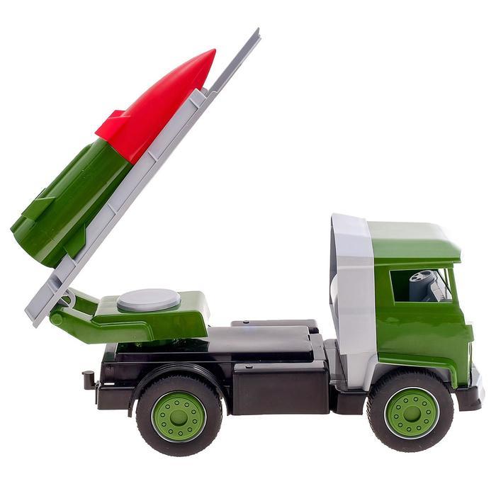 """""""Военный автомобиль с ракетой"""""""